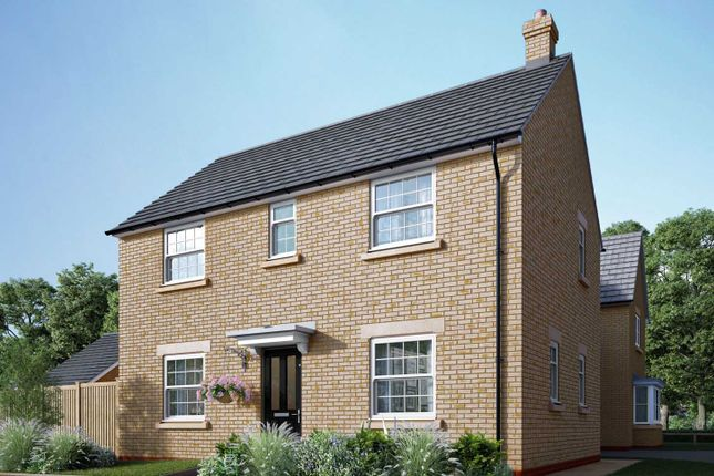 """Thumbnail Detached house for sale in """"The Mountford"""" at Uffington Road, Barnack, Stamford"""