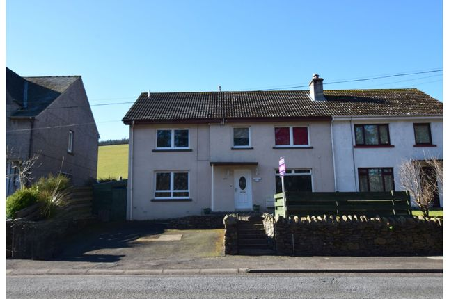 Thumbnail Semi-detached house for sale in 247 Wood Street, Galashiels