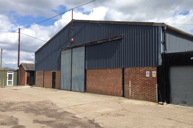 Thumbnail Light industrial to let in Clacton Road, Weeley, Clacton-On-Sea