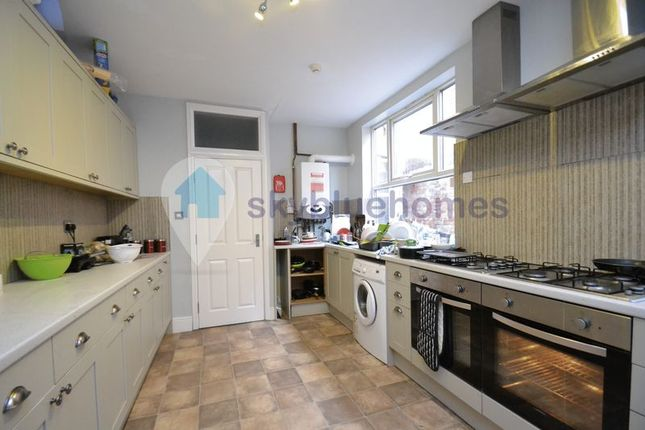 Thumbnail End terrace house to rent in Stretton Road, Leicester