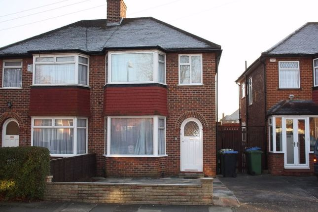 3 bed semi-detached house to rent in Calder Gardens, Edgware, Middlesex, UK