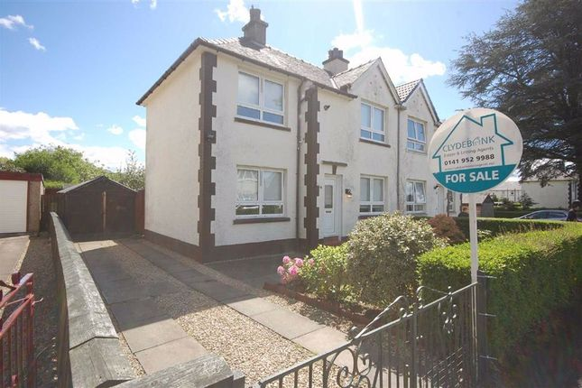 Thumbnail Semi-detached house for sale in Pine Road, Clydebank
