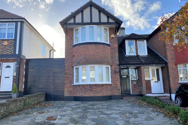 Thumbnail Semi-detached house for sale in Abbey Road, South Croydon, Surrey