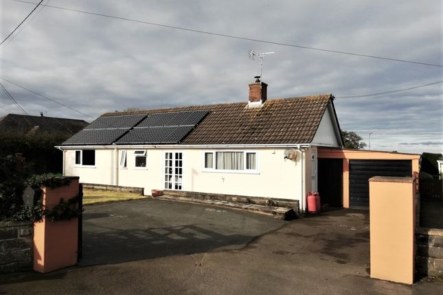Thumbnail Detached bungalow for sale in Rhiwgoch, Aberaeron, Ceredigion
