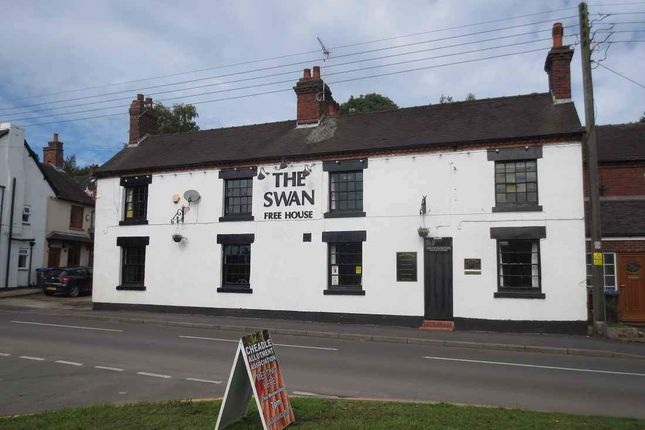 Thumbnail Pub/bar for sale in The Rindle, Cheadle, Stoke-On-Trent