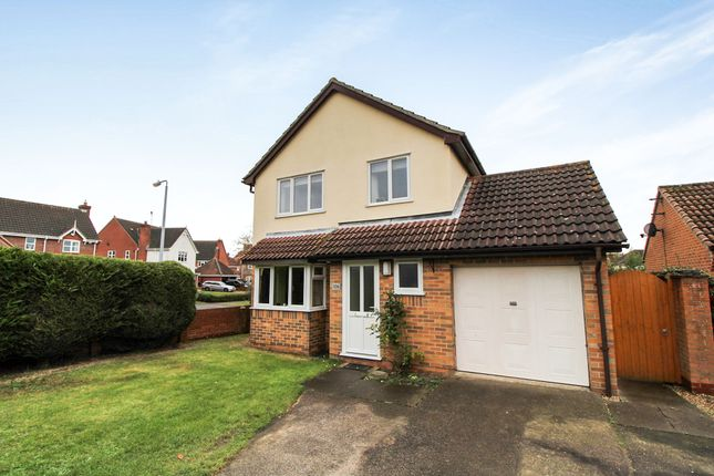Thumbnail Detached house for sale in Eastwood Drive, Highwoods, Colchester