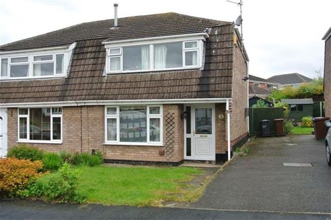 Thumbnail Semi-detached house to rent in Hadstock Close, Sandiacre