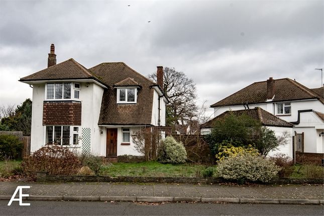 Thumbnail Detached house to rent in Poyntell Crescent, Chislehurst, Kent