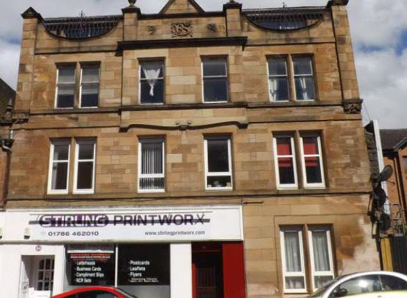 Thumbnail Flat to rent in Cowane Street, Stirling Town, Stirling