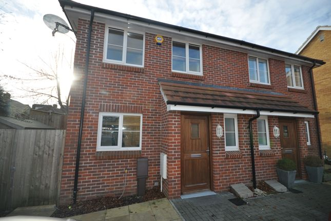 Thumbnail Semi-detached house to rent in Portsdown View, Havant