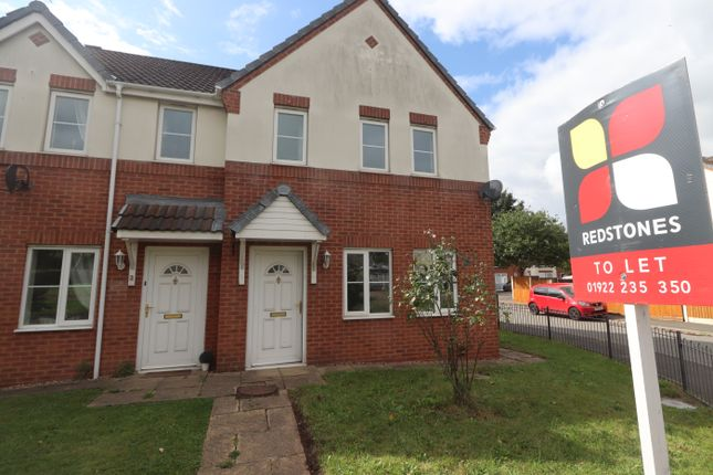 Thumbnail Semi-detached house to rent in Progress Grove, Huntington, Cannock