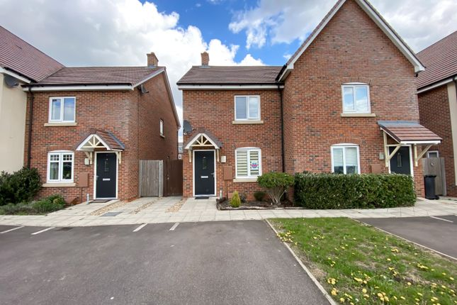 2 bed semi-detached house for sale in The Jumps, Marston Moretaine, Bedford MK43