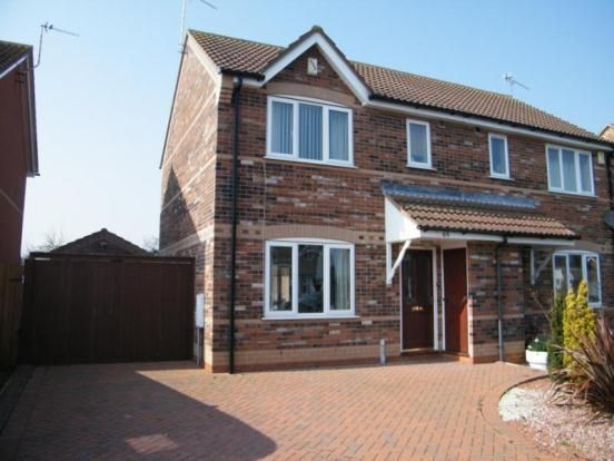 Thumbnail Semi-detached house for sale in Amos Way, Sibsey