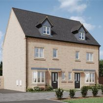 Thumbnail Town house for sale in Woodpecker Avenue, Holt