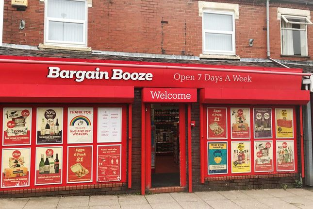 Thumbnail Retail premises for sale in Dimsdale Parade West, Newcastle-Under-Lyme