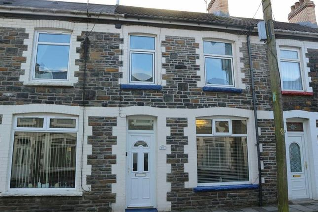 Thumbnail Terraced house to rent in Oakfield Street, Llanbradach, Caerphilly