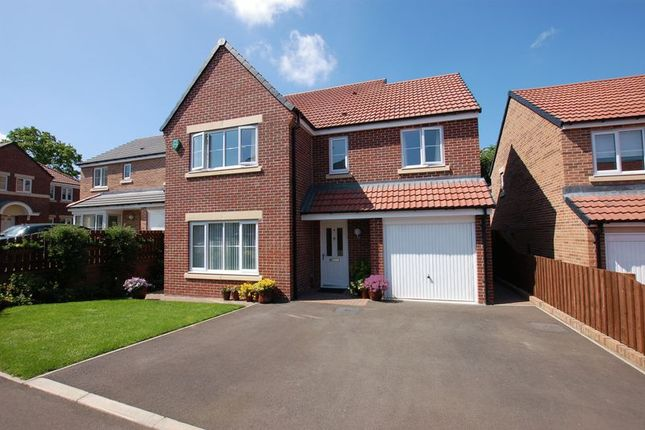 Thumbnail Detached house for sale in Rosewood Drive, Ponteland, Newcastle Upon Tyne