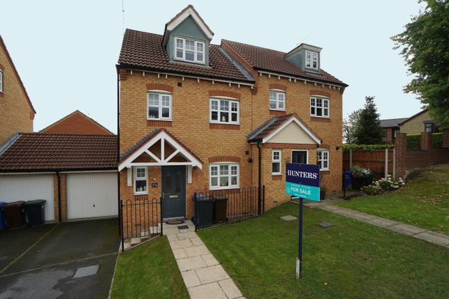 4 bed semi-detached house for sale in A Thompson Hill, High Green, Sheffield, South Yorkshire S35