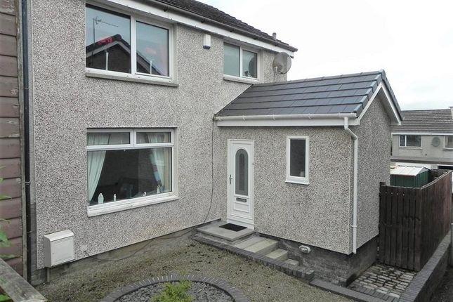 Thumbnail End terrace house for sale in Lindsay Loan, Lanark