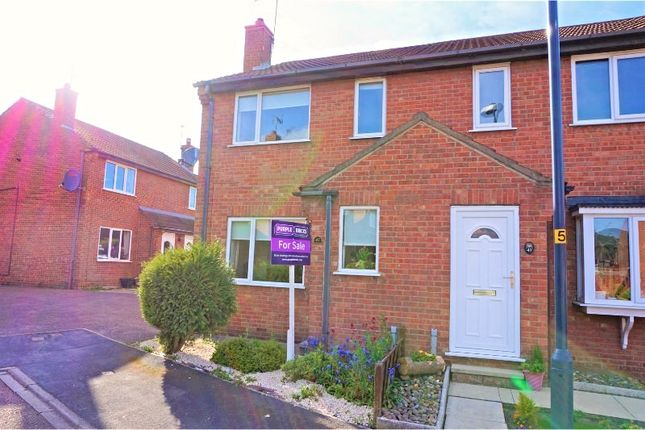 Thumbnail Semi-detached house for sale in Coupland Road, Selby