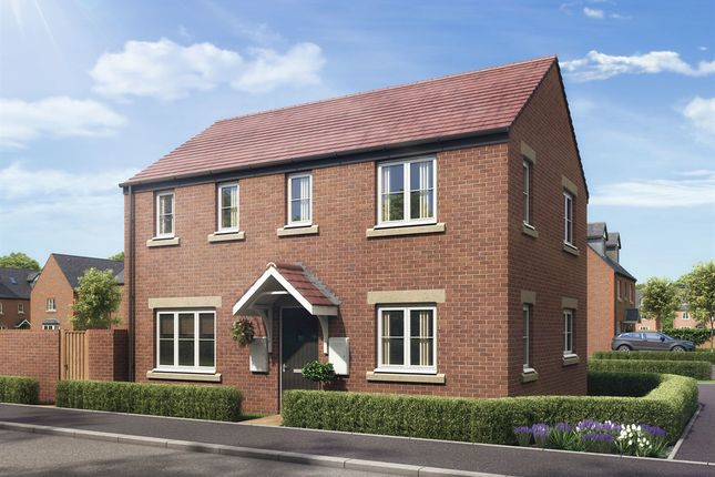"Thumbnail Detached house for sale in ""The Clayton Corner"" at Boughton Green Road, Northampton"