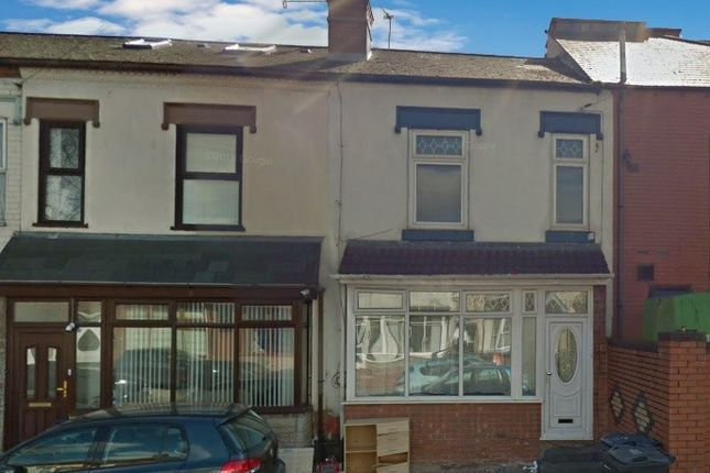 Thumbnail Terraced house for sale in Somerville Road, Small Heath, Birmingham, Warwickshire
