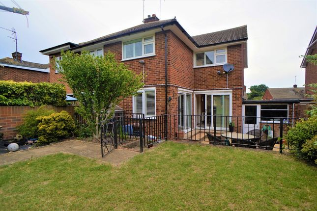 Thumbnail Semi-detached house to rent in Iden Road, Frindsbury, Rochester