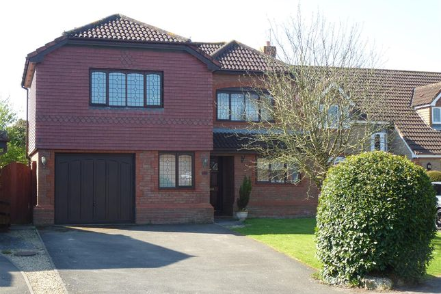 Thumbnail Detached house to rent in Treetops, Portskewett, Caldicot