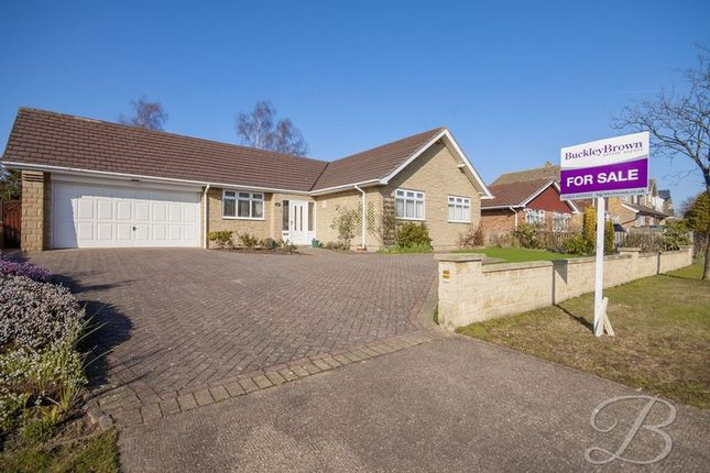 Thumbnail Detached bungalow for sale in Chatsworth Drive, Mansfield