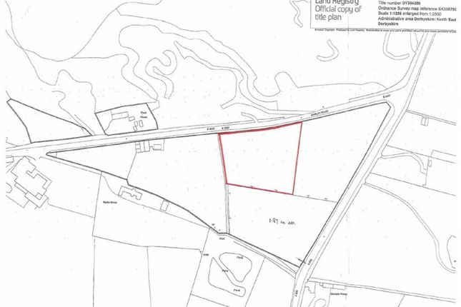 Thumbnail Land for sale in Land At, Darley Road, Stonedge, Ashover