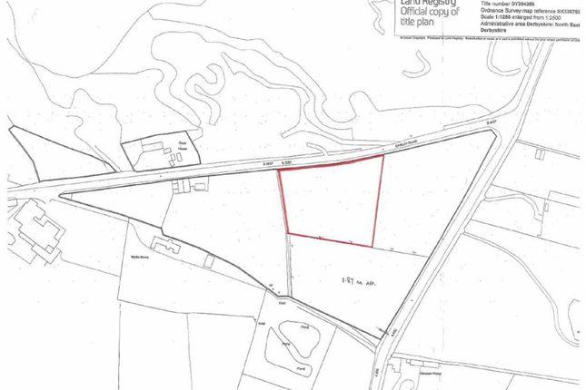 Land At, Darley Road, Stonedge, Ashover S45
