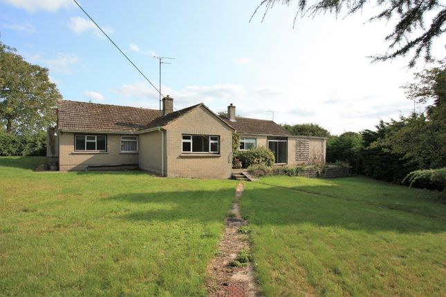 Thumbnail Detached bungalow for sale in Hampton, Nr Highworth