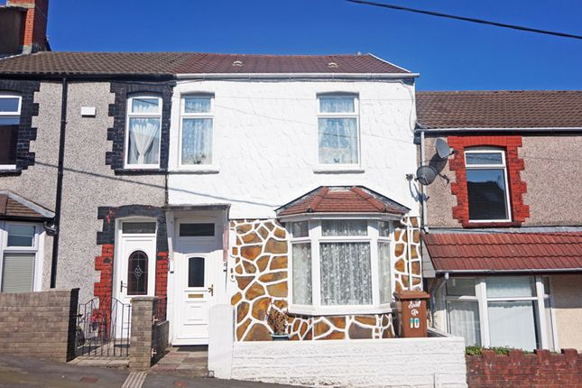 Thumbnail Terraced house for sale in Cefn Road, Hengoed
