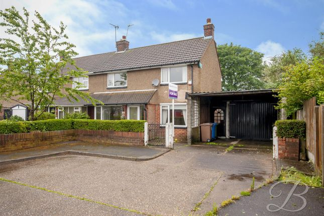 Thumbnail 3 bed semi-detached house for sale in The Hardstaff Homes, Priory Road, Mansfield Woodhouse, Mansfield
