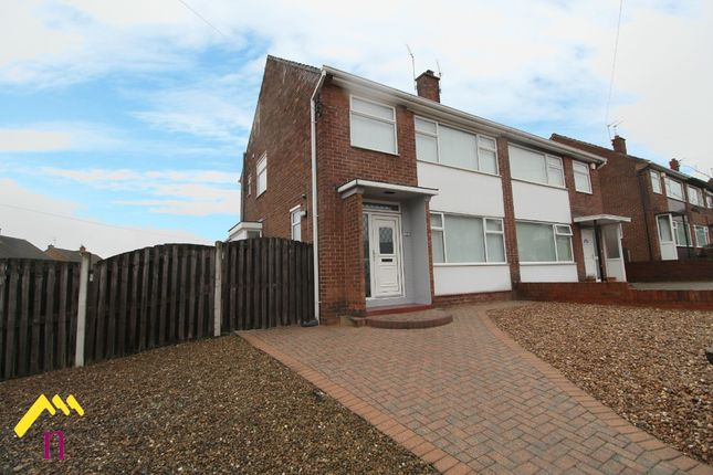 Thumbnail Semi-detached house for sale in Greenleafe Avenue, Wheatley Hills, Doncaster