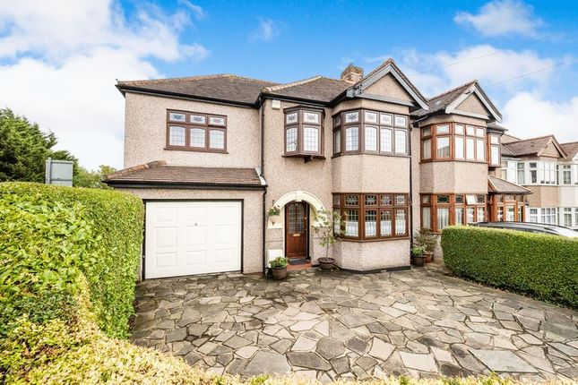 Thumbnail Semi-detached house for sale in Hillfoot Road, Romford