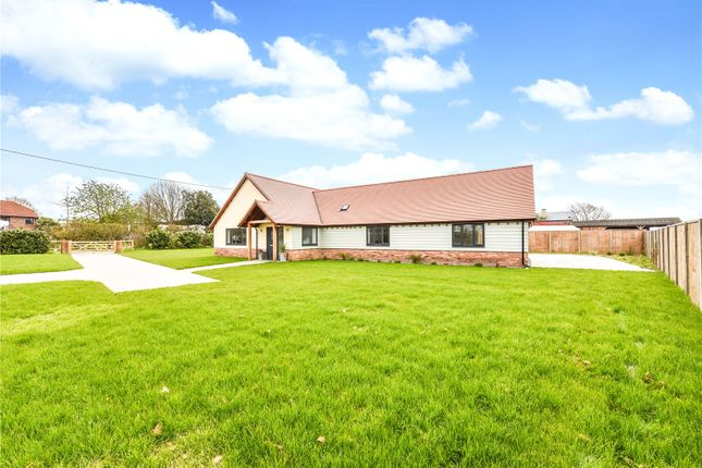 Thumbnail Bungalow for sale in Fletchers Lane, Sidlesham Common, Chichester, West Sussex