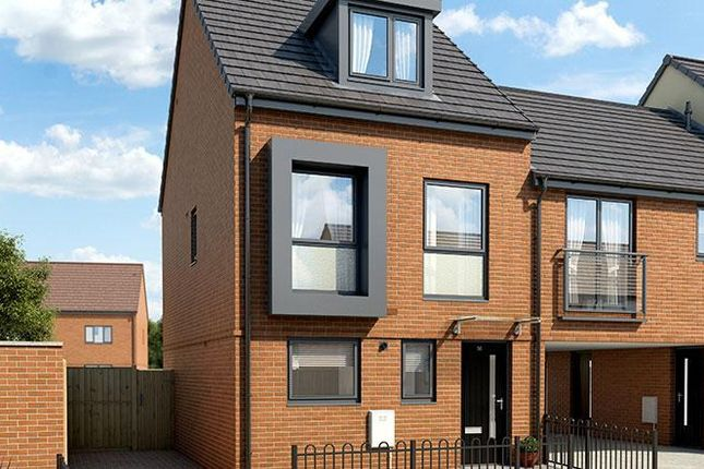 Thumbnail Terraced house for sale in Bridle Wood, Donnington, Telford