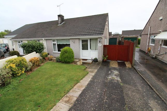 Thumbnail Semi-detached bungalow for sale in Launceston Close, Plymouth