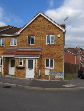 Thumbnail Semi-detached house to rent in Heathfield Way, Mansfield