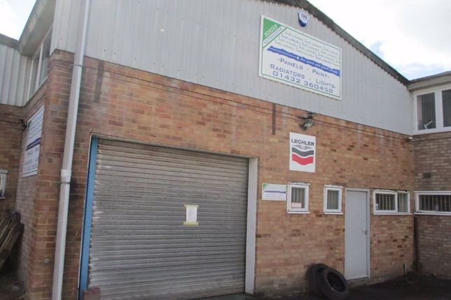 Thumbnail Light industrial to let in Foley Trading Estate, Hereford