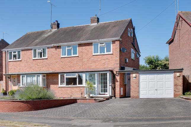 Thumbnail Semi-detached house for sale in Wordsworth Avenue, Headless Cross, Redditch