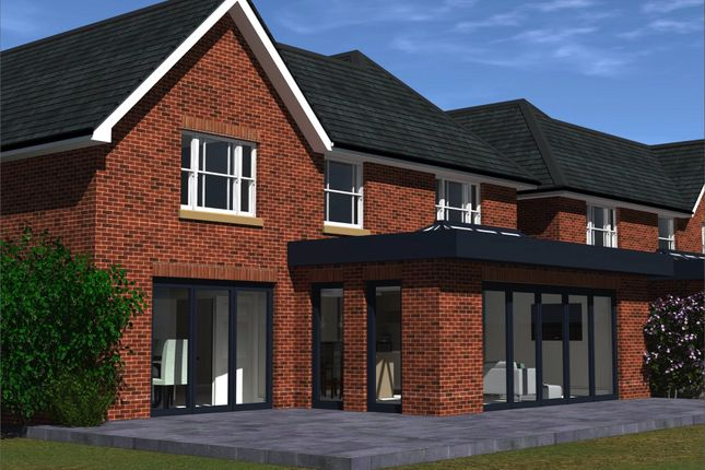 Plot 2 Rear Cgi of Nine Mile Ride, Finchampstead, Wokingham, Berkshire RG40