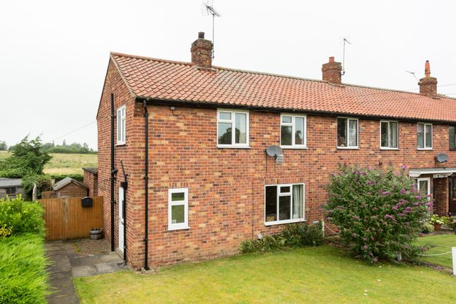 Thumbnail End terrace house for sale in Branton Lane, Great Ouseburn, York