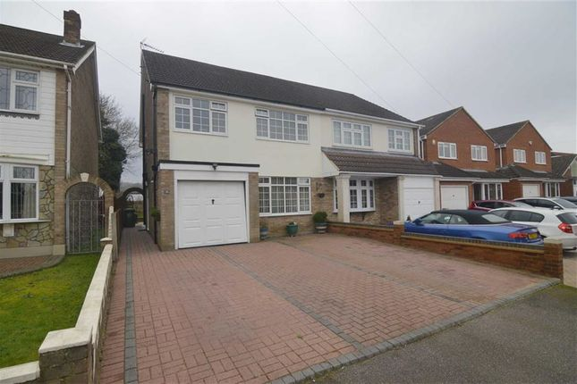 Thumbnail Semi-detached house for sale in Emanuel Road, Basildon, Essex