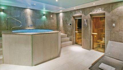 Spa Room of Roland Gardens, South Kensington SW7.