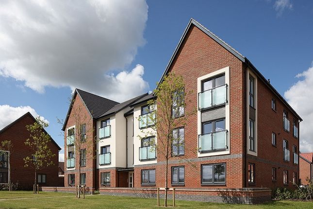 "Thumbnail Flat for sale in ""One Bedroom Apartment"" at Houlton Way, Rugby"