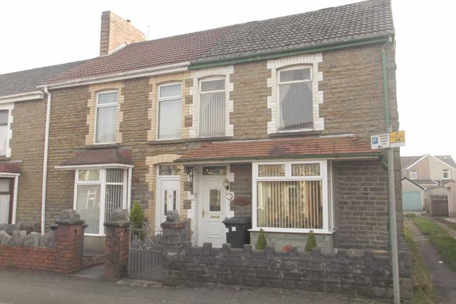 Thumbnail End terrace house for sale in Coombes Road, Skewen, Neath