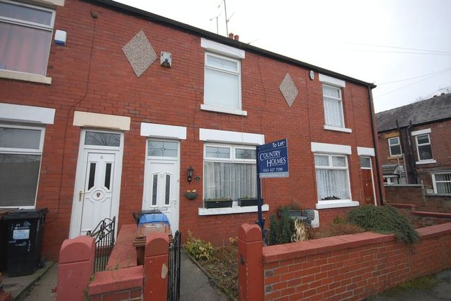 Thumbnail Terraced house to rent in Diamond Terrace, Marple, Stockport