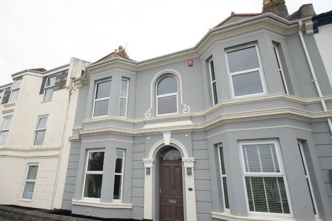 Thumbnail Terraced house to rent in Eddystone Terrace, The Hoe, Plymouth
